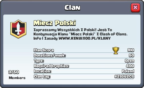 Clash Royale - Miecz Polski