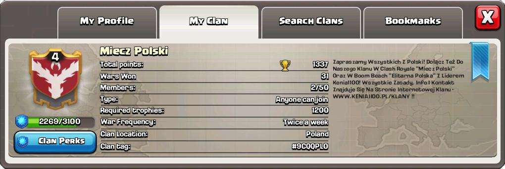 Clash of Clans - Miecz Polski